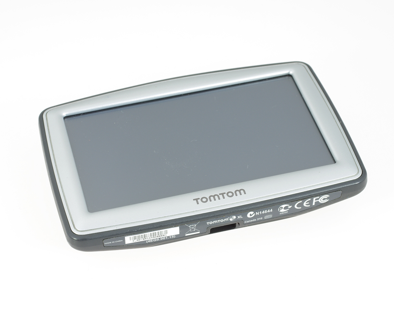 TomTom XL Classic N14644 with Peripower Universal Car Holder